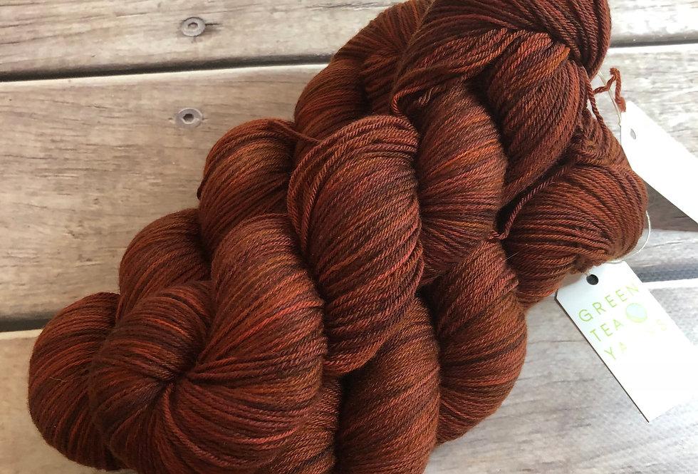 The Red Centre - 4ply sock yarn in merino & nylon