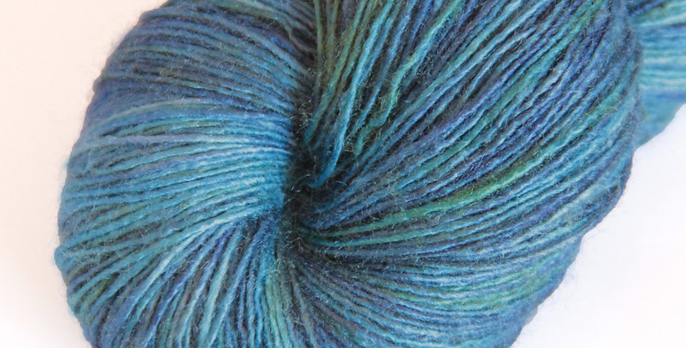 My Straw Hat - lace weight Tussah silk