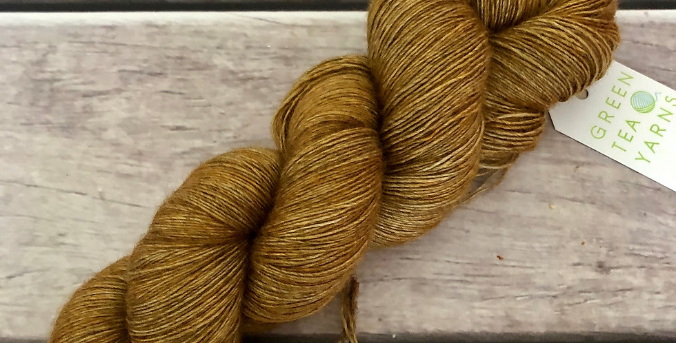 Bronze ooak - Lace weight, Merino, silk and yak - Cassis