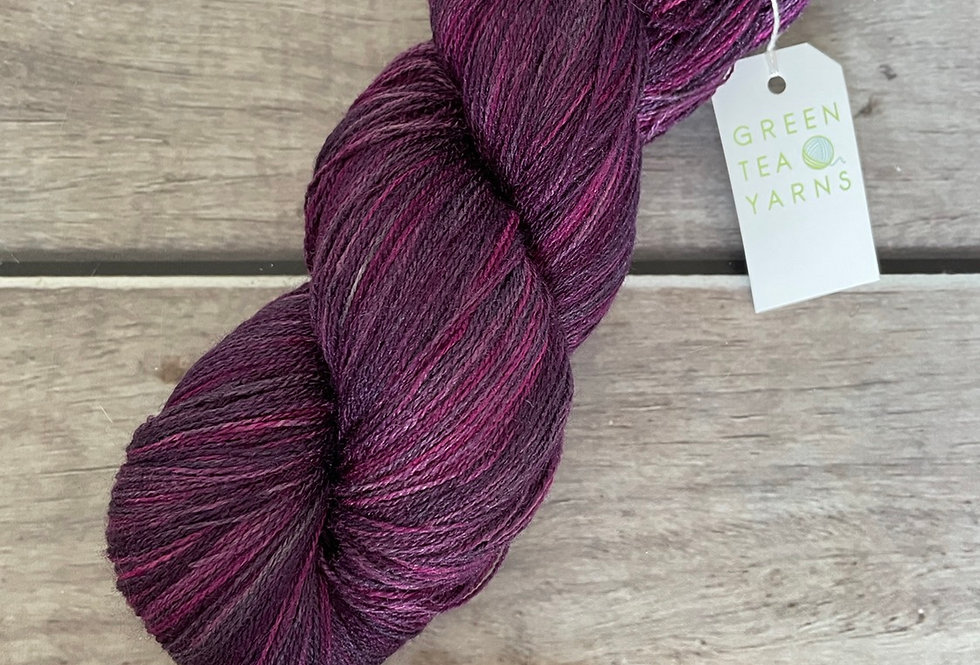 Wild Orchid - 1 ply in Tussah silk