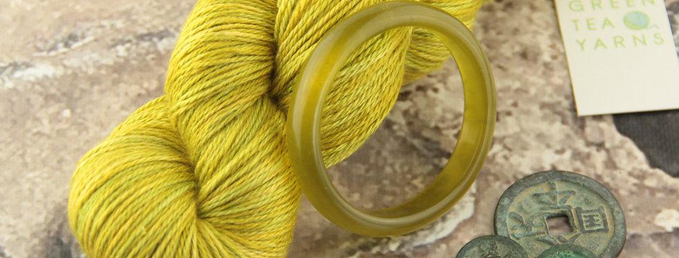 Jade Bracelet - 4 ply in silk and merino