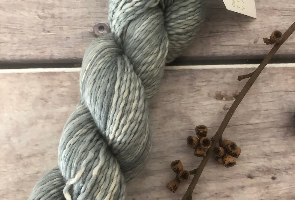 Cloudy Days on Amaranth - 8 ply cotton