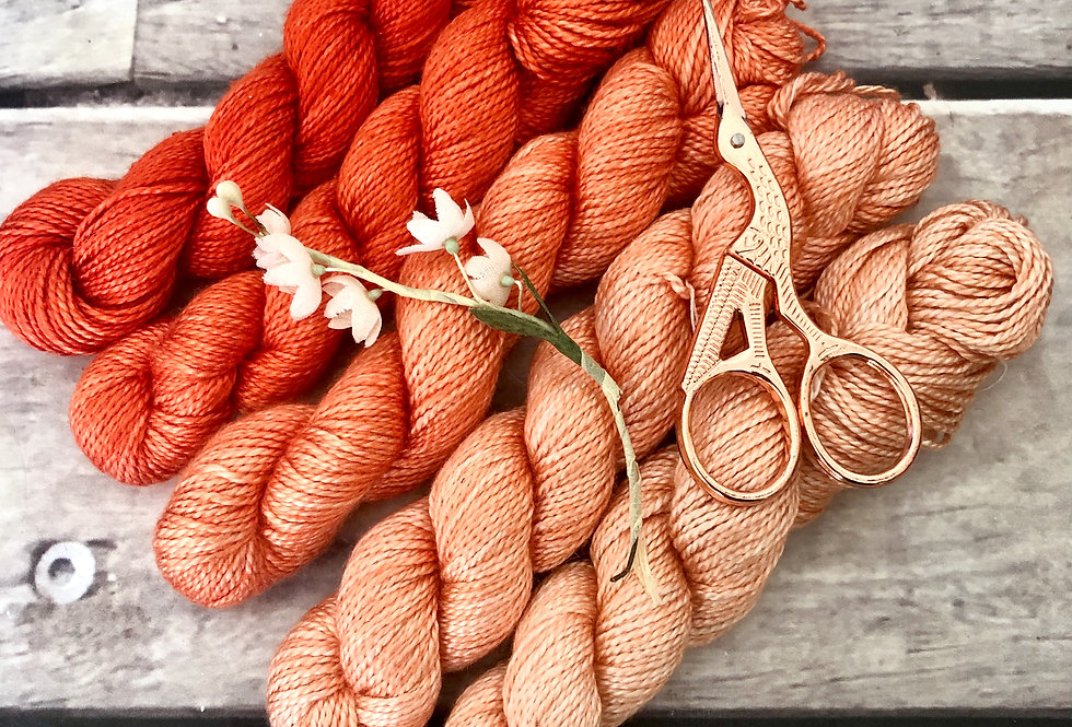 Coral Mist - 4 ply silk - Ginseng f