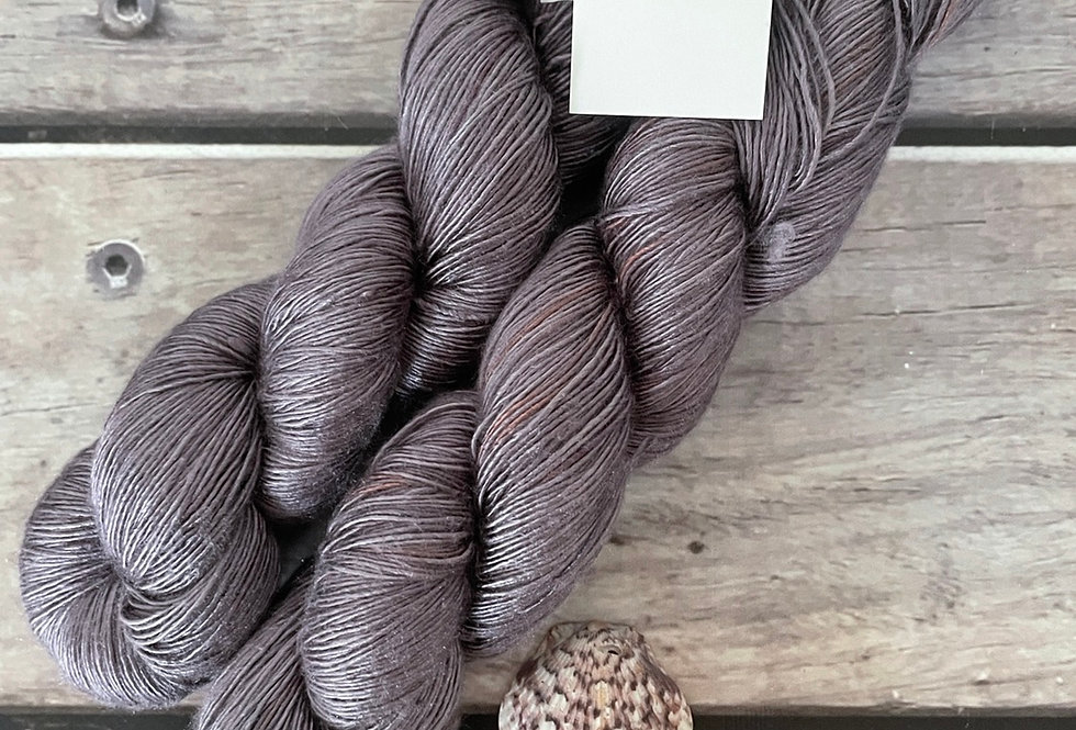 Fig - 4 ply mulberry silk single -Rougui