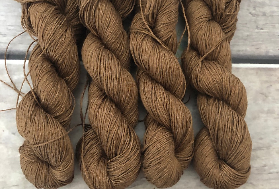 Gumnut on Ceylon pure linen yarn - 50 gm skeins