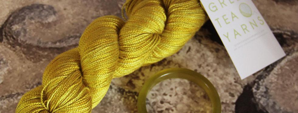 Jade Bracelet - 4 ply in Mulberry silk