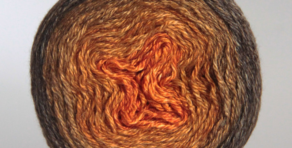 Tamarind Sunset gradient - Various Fibres