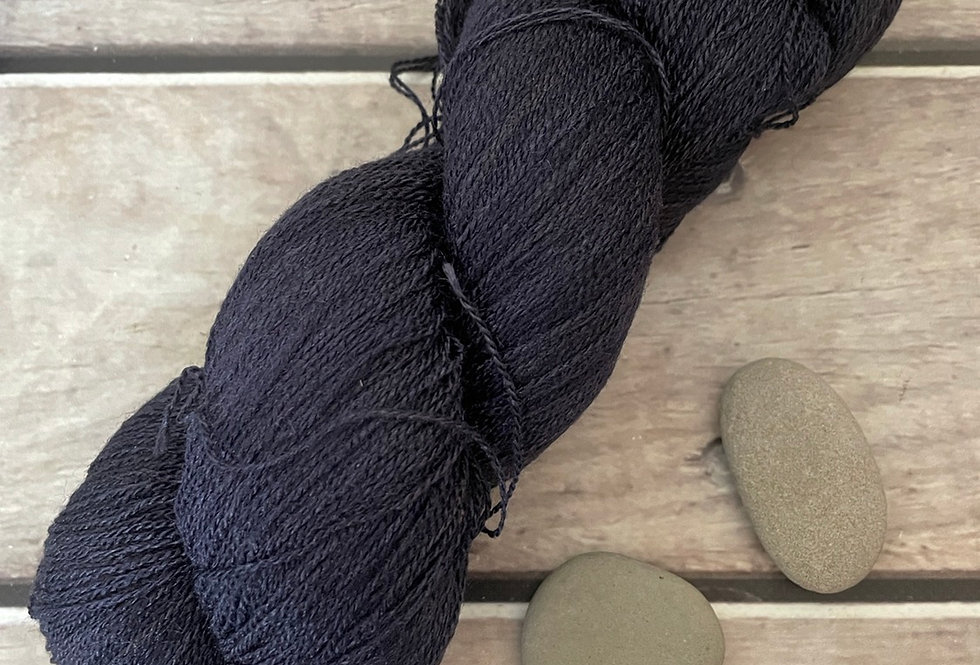 Dreams of a Starry Night - 1 ply in Tussah silk
