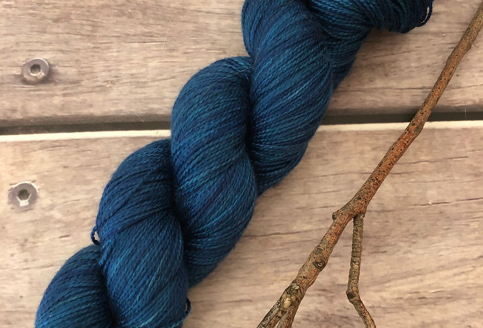 Deep Sea - 4 ply in Mulberry silk - Ginseng (f)