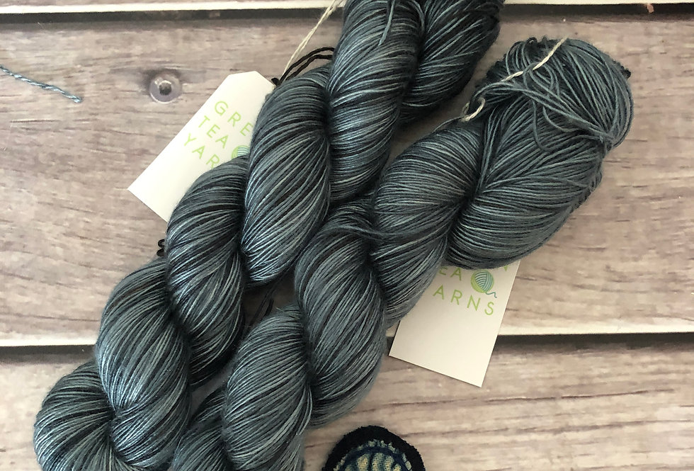 Mokume Gane - 4 ply mulberry silk single -Rougui