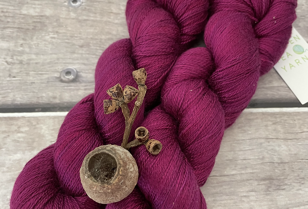 Wild Orchid - 3 ply in Mulberry silk