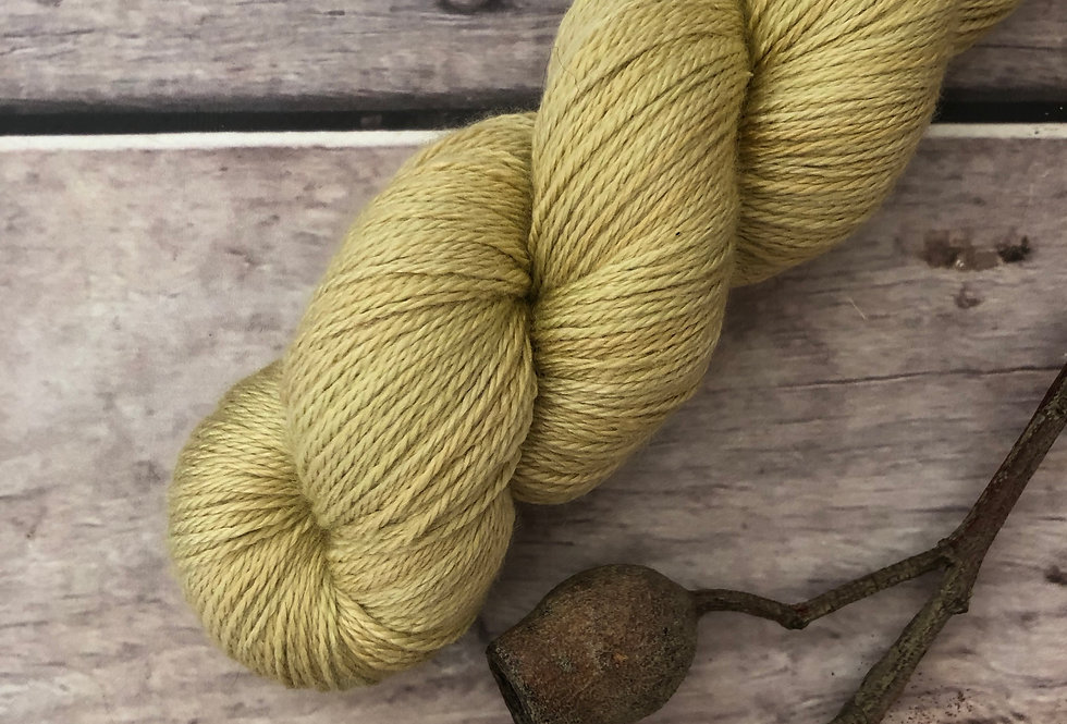 The Uprising - 4 ply silk and merino - White Cloud