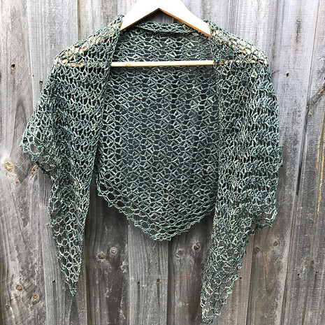 crochet shawl by Jotown19