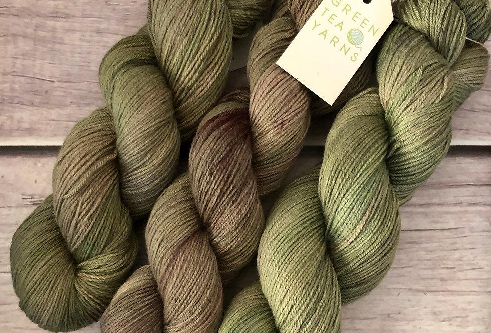 Native Sage - sock yarn in merino & nylon