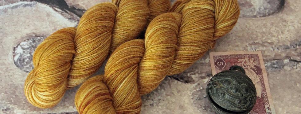 Ming Tile - 4 ply sock yarn in merino & nylon