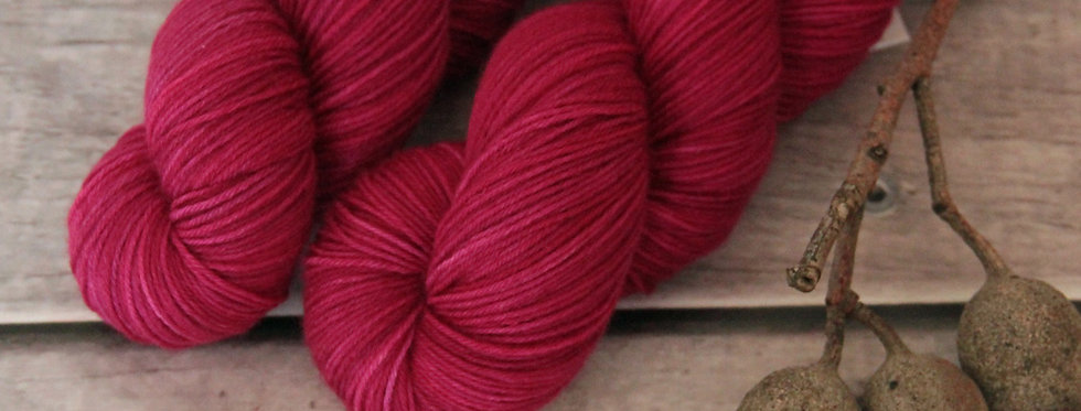 Bush Berries - 4 ply sock yarn in merino & nylon