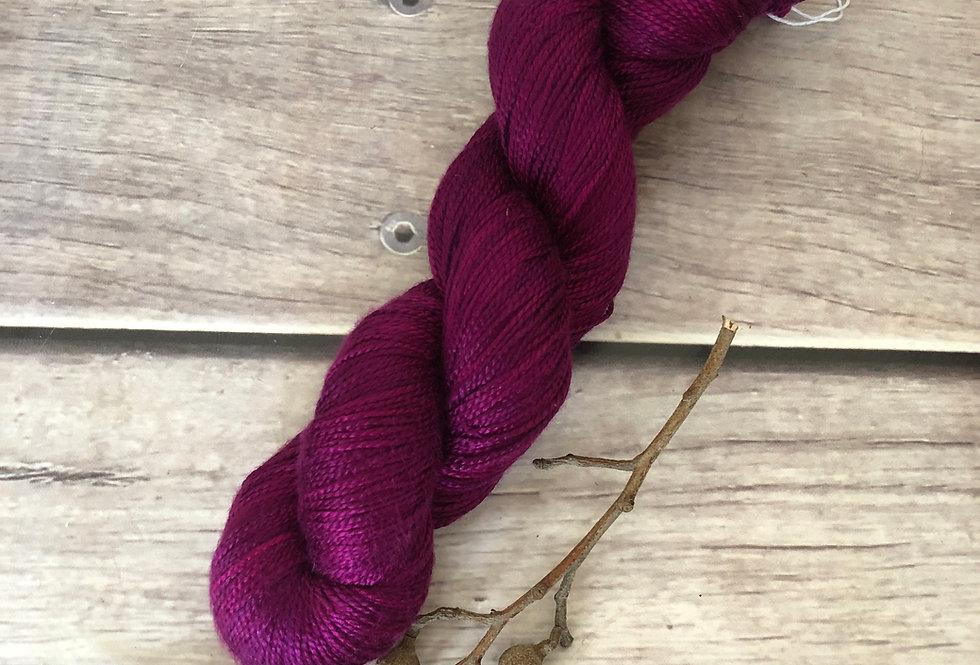 Wild Orchid- 4 ply in Mulberry silk - Keenmun