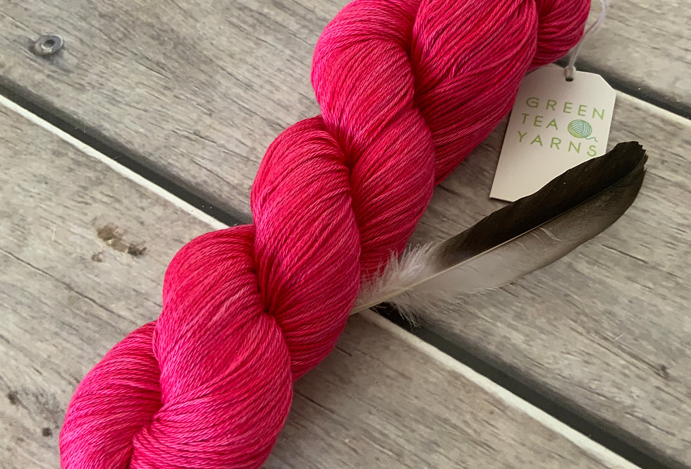 Coral Pink in 4 ply Pima Cotton - Wei Shan