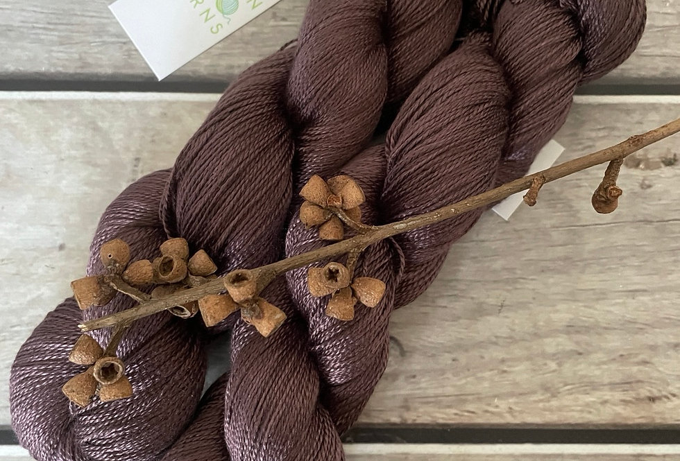 Paperbark - 3 ply pure silk yarn