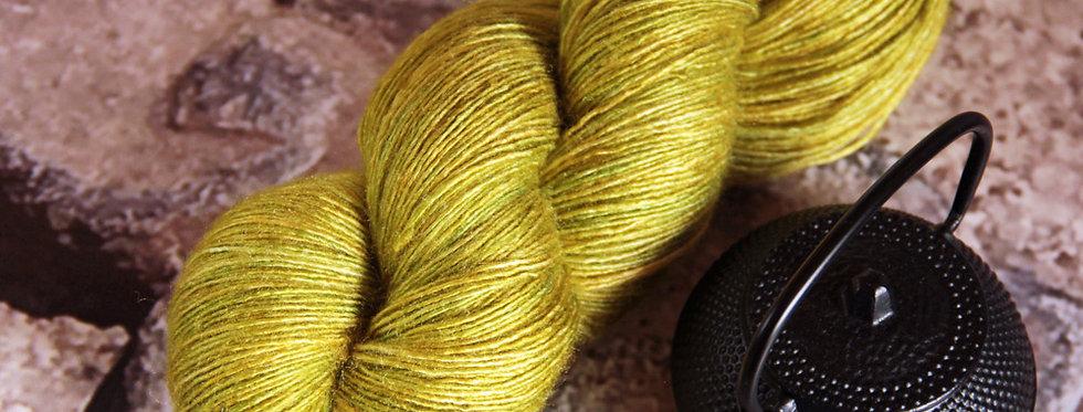 Jade Bracelet - lace weight Tussah silk