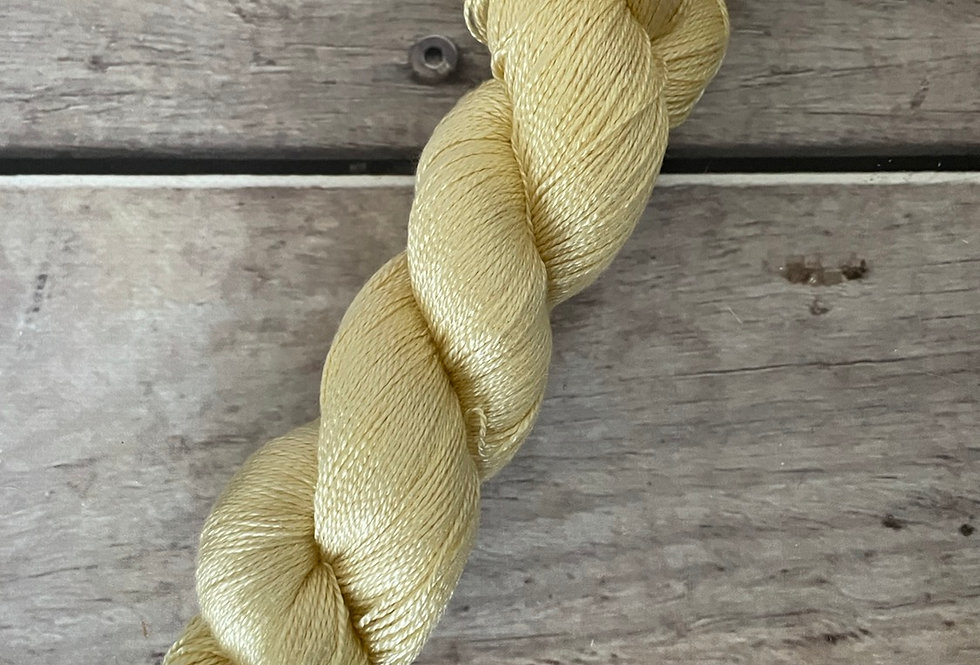 Buttercream - 3 ply in Mulberry silk