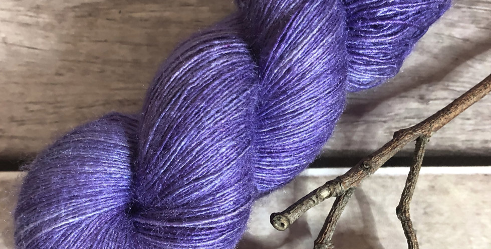 Bluebell woods - lace Tussah silk - Ujicha
