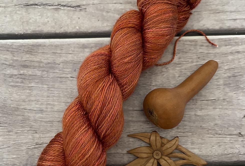 Soft Tamarind - 3 ply in Mulberry silk - Pekoe hl