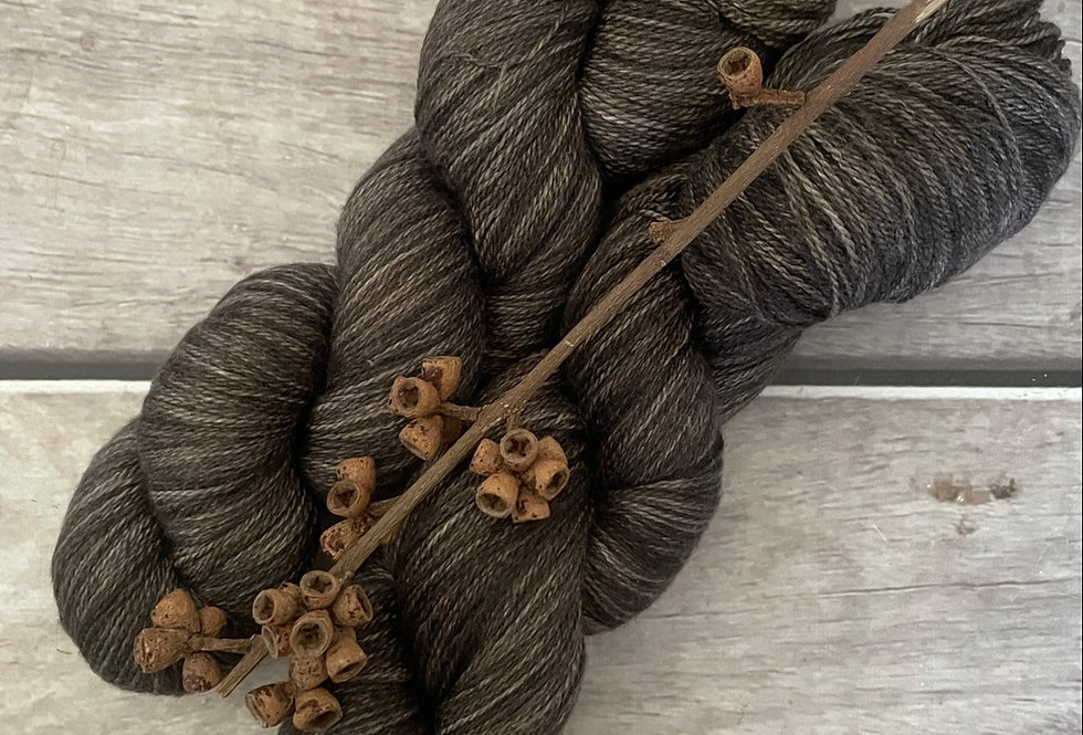 Fallen Ashes - 2 ply in Silk and Merino