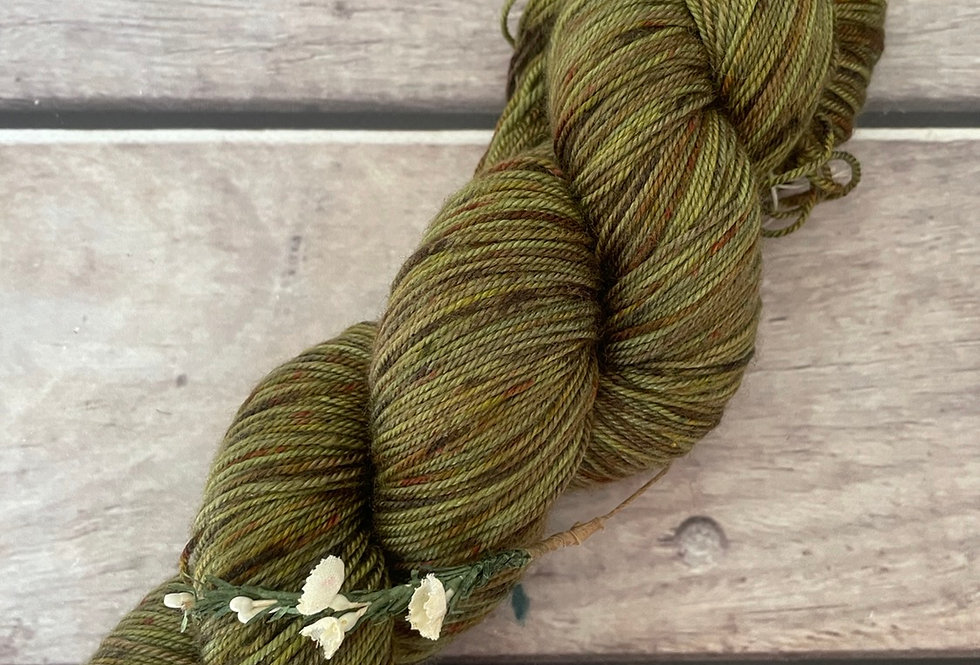Mangrove Swamp - 4 ply silk / merino / cashmere - Assam