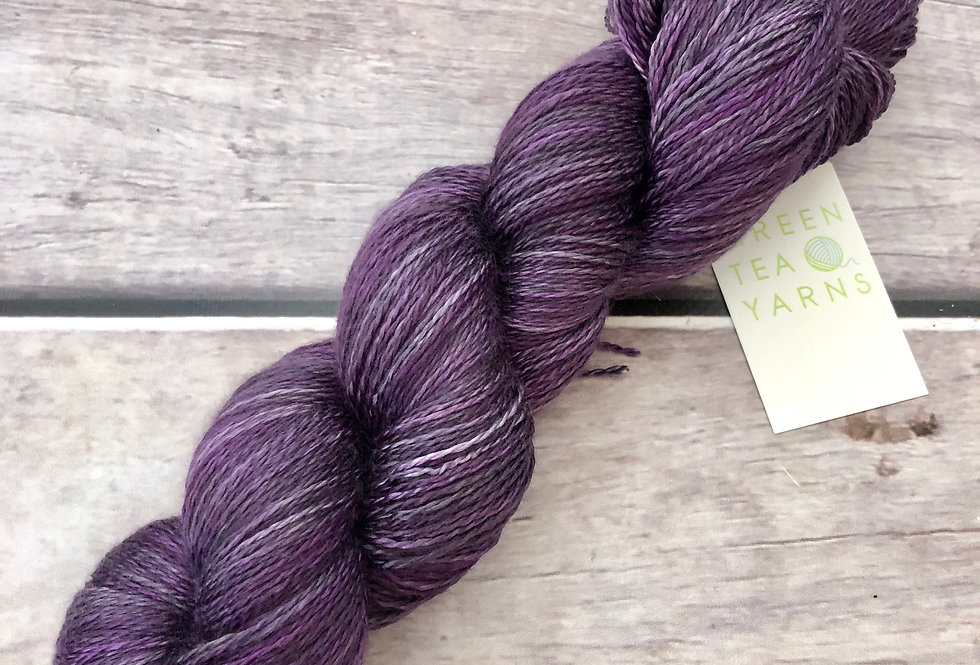 Gorgeous grape - 3 ply in Mulberry silk