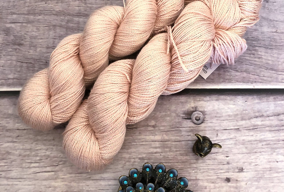 She Sells Seashells - 4 ply in Mulberry silk
