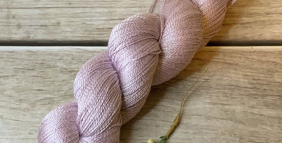 Blush - 3 ply in Mulberry silk - Ginseng hl