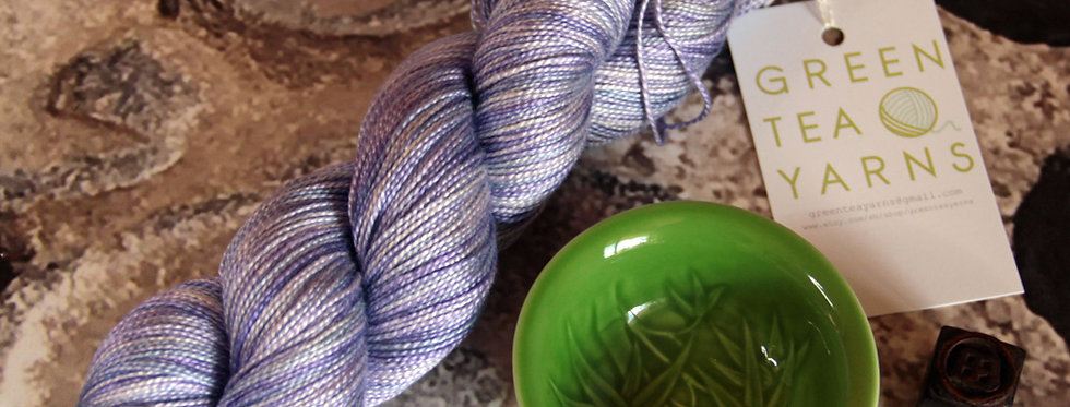 Hyacinth - 4 ply in Mulberry silk