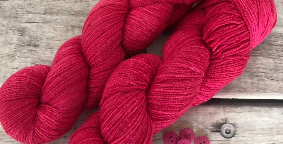 Pink Parfait ooak - 4ply sock yarn in merino and nylon - Darjeeling