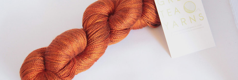 Tamarind Sunset - 3 ply in Mulberry silk - Ginseng hl