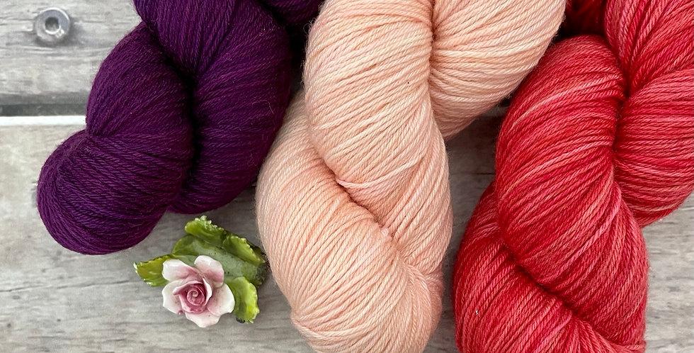 Footsteps in the Sand - 4ply sock yarn set in merino and nylon - Darjeeli