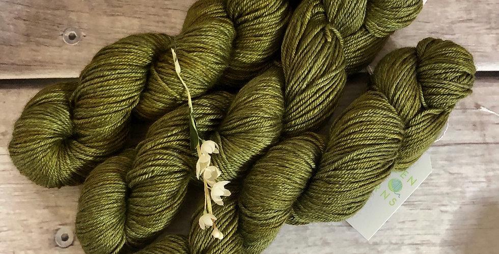 Forest Floor -  8 ply merino/silk/yak - Masala 8