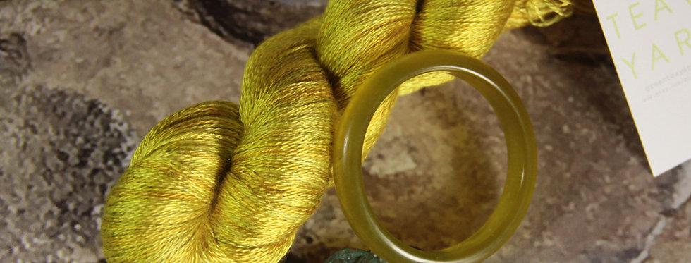 Jade Bracelet - 2 ply in Mulberry silk