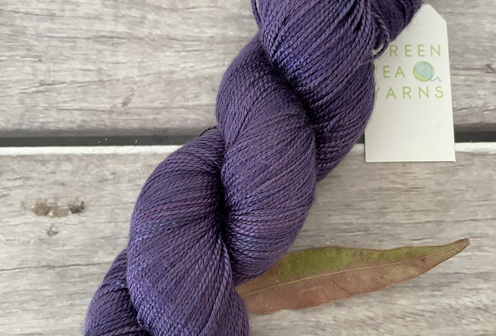 Purple Berry - 4 ply in Mulberry silk