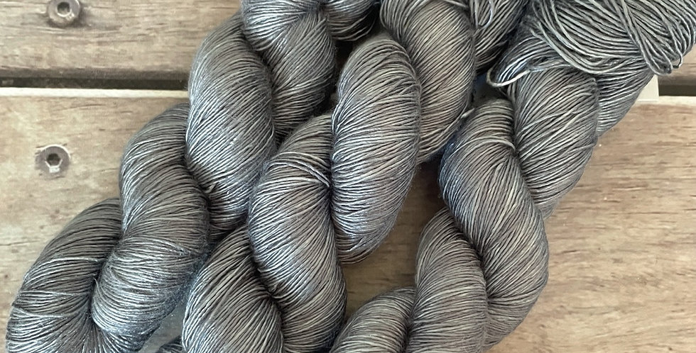Mokume Gane light - 4 ply mulberry silk single -Rougui