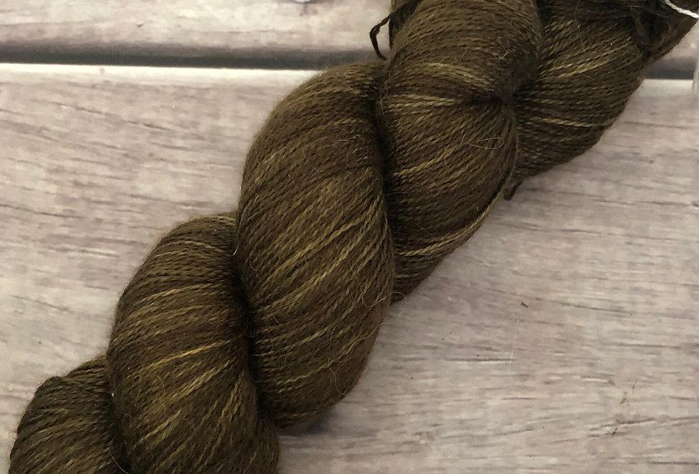 Spice Trade ooak - 2 Ply in silk and alpaca