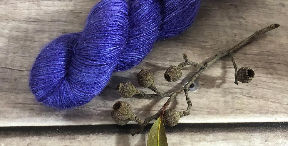 Bluebell woods semi - lace Tussah silk - Ujicha