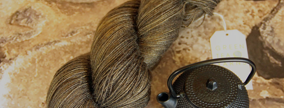 Spice Trade - lace weight Tussah silk