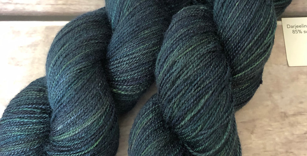 The Watchman - 3 ply heavy lace weight Tussah Silk - Gong Fu (hl)