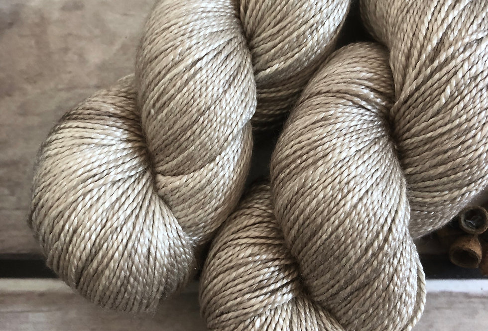 Wild Oats - 4 ply in pure Mulberry silk