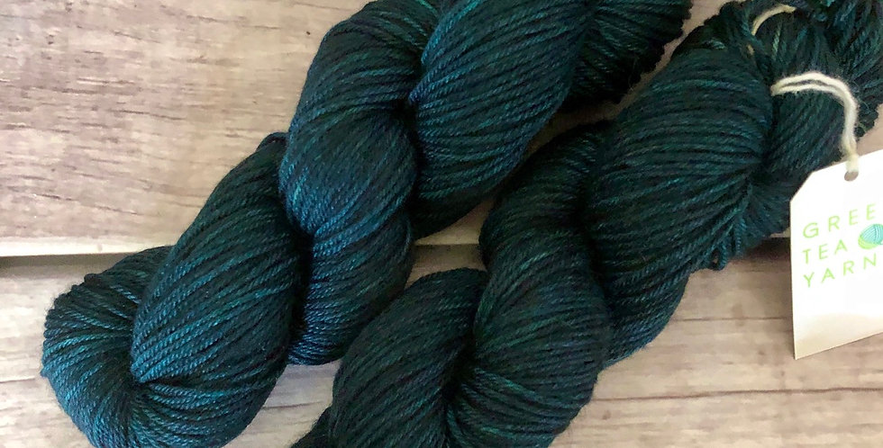 Dark Night -  8 ply merino/silk/yak - Masala 8