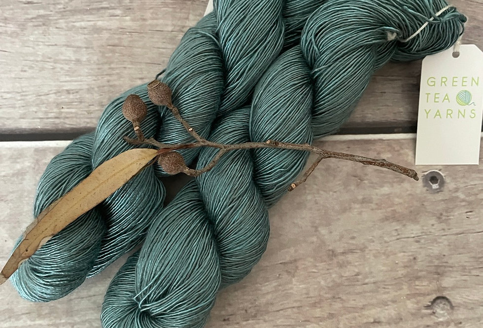 Cardabia Station - 4 ply mulberry silk single -Rougui