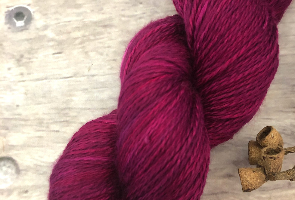 Wild Orchid - 3 ply in Mulberry silk - Pekoe hl