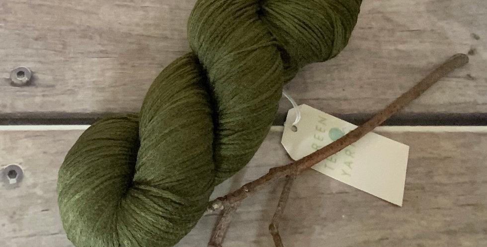 Banksia on Yecha - Tussah silk chainette - 4 ply