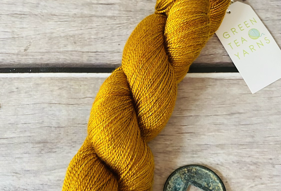 Lacquer Gold - 4 ply in Mulberry silk
